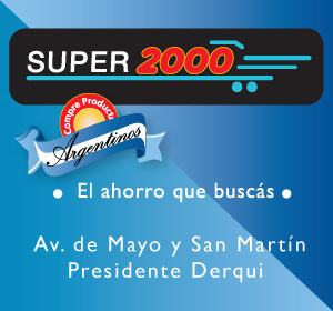 Super 2000. Av. de Mayo y San Martín