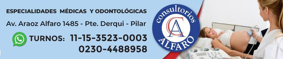 Consultorios Alfaro. Presidente Derqui